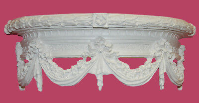 Hickory Manor House Swag Bed Crown Wall Décor