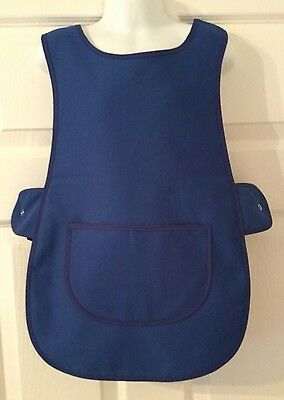 Wholesale Job Lot 20 Brand New Kids Tabard Aprons Blue Clothes Craft Toddler