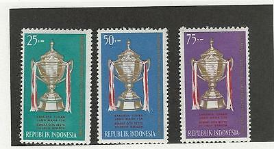 Indonesia, Postage Stamp, #645-647 Mint LH, 1964