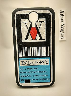USA Seller Samsung Galaxy S4 Anime Phone case Hunter X Hunter License Card