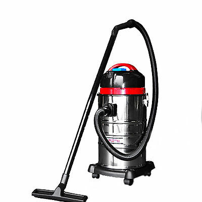 30L INDUSTRIAL Bagless Wet & Dry VACUUM CLEANER and Blower Drywall Vac Powerful