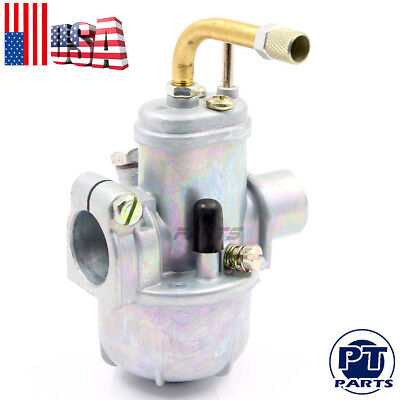 Puch Moped 12mm Bing Style Carb Carburetor Maxi Sport Luxe Newport E50 Murray