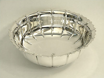 Vintage Solid Silver Bowl / Dish London 1959