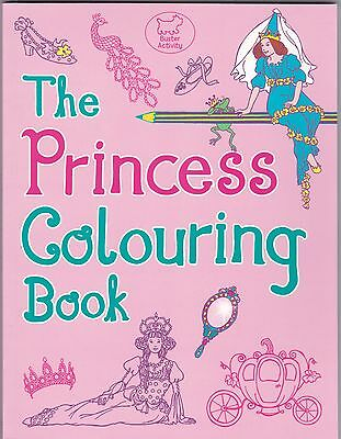 Princess Colouring Book by Ann Kronheimer - Art Therapy