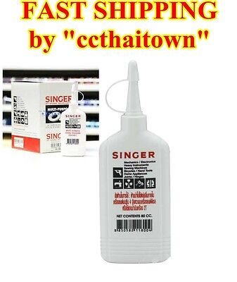 80cc SINGER HIGH QUALITY OIL ALL PURPOSE SEWING MACHINE TOOL APPLIANCE LUBRICANT