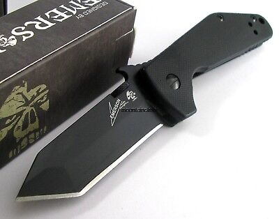 Kershaw Emerson CQC-3K Tactical Folding Knife Tanto Point CLAM 6014TBLK