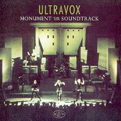 Ultravox : Monument: The Soundtrack CD (1996) Expertly Refurbished Product