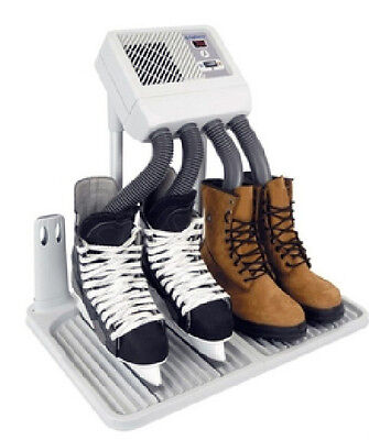 Digital LED Boot and Glove Dryer with Tray