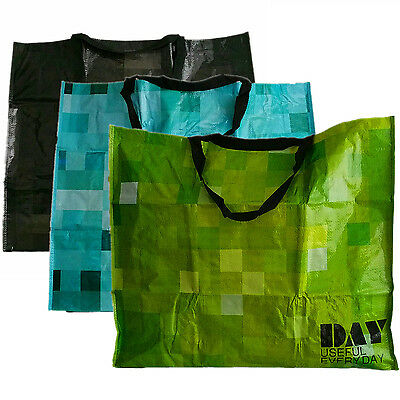 3x Strong Extra Large Laundry Washing Storage Shopping Jumbo Bag Strong Reusable