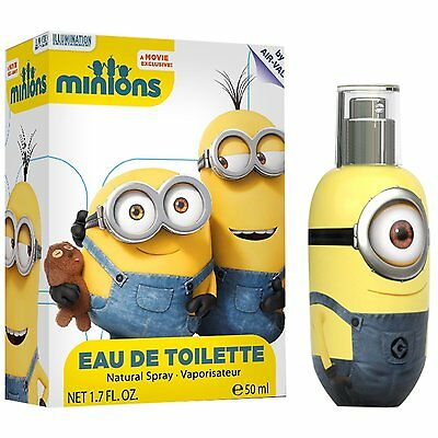 Universal Minions EDT 50 Ml Fragrant Perfume for Boys Sealed So Cool Xmas Gift