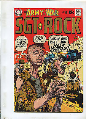 Our Army At War #207 (8.0) Sgt. Rock!  1969
