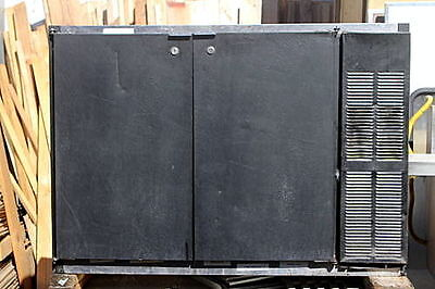 """BACK BAR REFRIGERATOR by  BevAir self contained Beverage Air 48""""wide"""