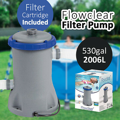 BESTWAY 2006L 530gal Flowclear Filter Pump Pool Accessory