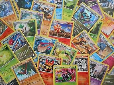 Pokemon TCG 50 CARD LOT-RARE, COMMON, UNCOMMON, & GUARANTEED EX OR FULL ART