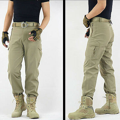 Men Military Tactical Combat Hiking Camping Outdoor Sport Casual Pant Trousers