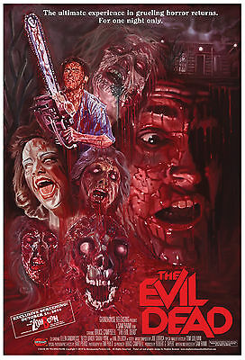 THE EVIL DEAD POSTER TED03 Large GIANT Wall Art Poster Print A1,A2,A3,A4