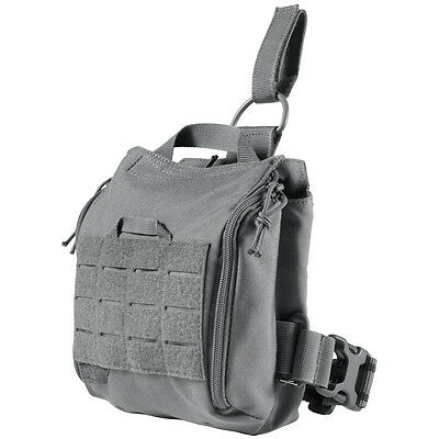 5.11 UCR Thigh Rig Tactical Drop Leg Pouch Magazine Utility Pocket MOLLE Storm