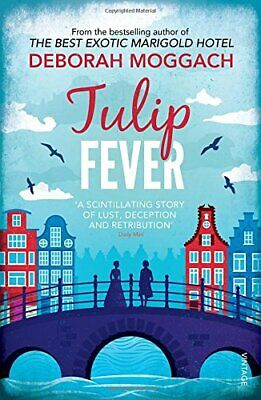 Tulip Fever by Moggach, Deborah Paperback Book The Cheap Fast Free Post