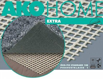 AKO Carpet Control Glide Anti Slip Mat Underlay haftgitter Various Sizes