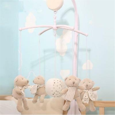 Newborn Baby Boys Kids Crib Mobile Phone Bed Bell Toy Arm Holder Bracket New LG