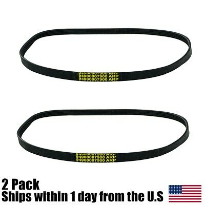 "2PK 14"" Concrete Saw Belt Fit Stihl TS420 TS500i 9490 000 7900 94900007900"