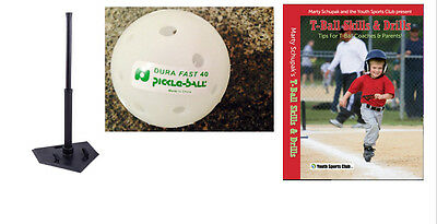 T-Ball America Intro Kit Comprised of 3 Items! Batting Tee, DVD & 6 Pickleballs!