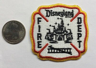 """Disneyland California Fire Department Firefighter Patch Disney Mickey Mouse 2.5"""""""