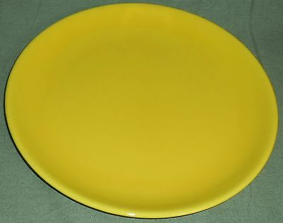 Gladding McBean RANCHO WARE PATTERN Bright Yellow CHOP PLATE or PLATTER