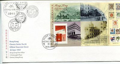 18424) HONG KONG 1997 FDC Classic Stamps - Stamps on