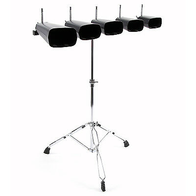 New Cowbell Set with Stand & Brackets by Gear4music