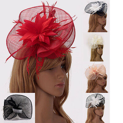 Ladies Women's Fashion Desinger Fascinator Hat Hair Accessories Wedding Party