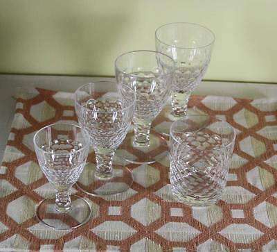 Marvelous 5 pc Crystal Set  designed for Renwick & Clark