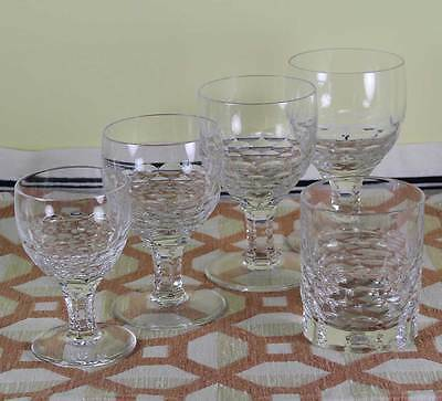 Charming 5 pc Crystal Set, Chatsworth  designed for Renwick & Clark
