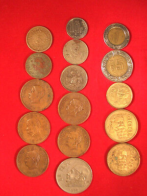 Mexican Coins Mixed Lot
