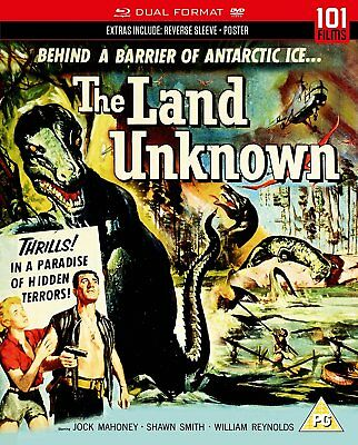 THE LAND UNKNOWN Jock Mahoney BLURAY + DVD in Inglese NEW .cp