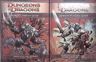 Dungeons & Dragons Eberrron Campaign & Player's Guide 2 Book Set - NEW & Sealed