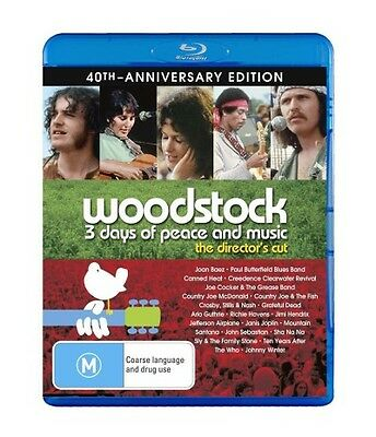 Woodstock: 3 Days of Peace and Music (Director's Cut) (40th Anniversary) Blu-ray