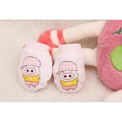 Newborn Baby Anti-scratch Soft Warm Mittens Gloves Anti Grasping Handguard LG