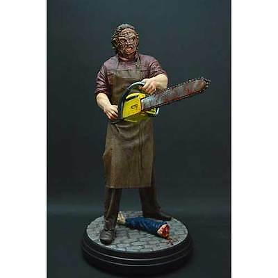 Texas Chainsaw Massacre Leatherface 1:4 Scale Statue NEW Hollywood Collectibles