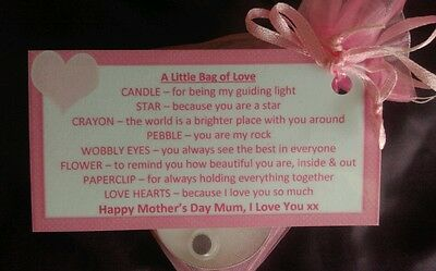 Mother's Day Little Bag of Love | Mother's Day Gift | Gift for Mum | Sentimental