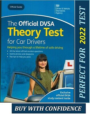 The Official DSA Driving Theory Test Book for Car Drivers 2020 DVSA  *ThryB UK