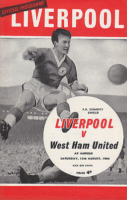 1964 FA Charity Shield - Liverpool v West Ham