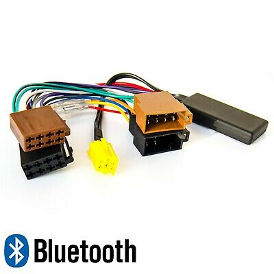BLUETOOTH AUX ADAPTER für FIAT 500 Grande Punto ALFA LANCIA Radio MP3 Spotity