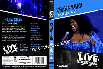 Chaka Khan One Classic Night. Live Concert Series. New DVD