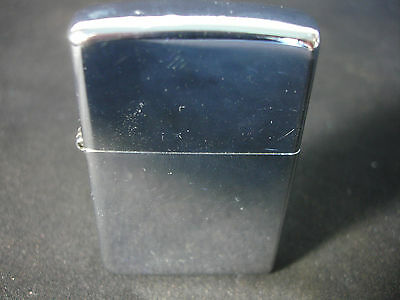 "2000 XV Zippo Cigarette Lighter With Engraved Initials ""JFK"" Bradford PA USA"