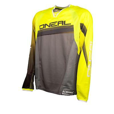 ONeal Element FR Mountainbike Jersey Neon Gelb DH MTB Downhill Freeride Shirt FR
