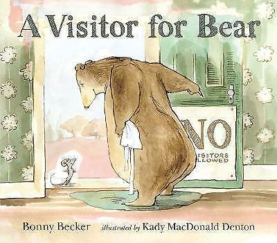 A Visitor for Bear by Bonny Becker (Paperback, 2009) New Book