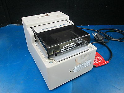 Addressograph NewBold M/N:830 Credit Card Imprinter 110VAC 601 HZ 2.0 AMPS