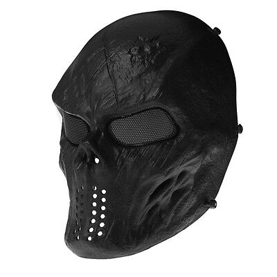 New Skull Skeleton Army Airsoft Tactical Paintball Full Face Protection Mask
