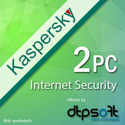 Kaspersky Internet Security 2 PC user / 2 Devices for Version 2017 Multi Device